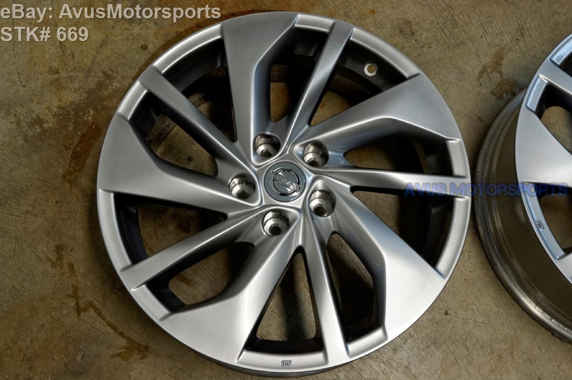 2015 Nissan Rogue Sl 18 U0026quot  Oem Factory Wheels