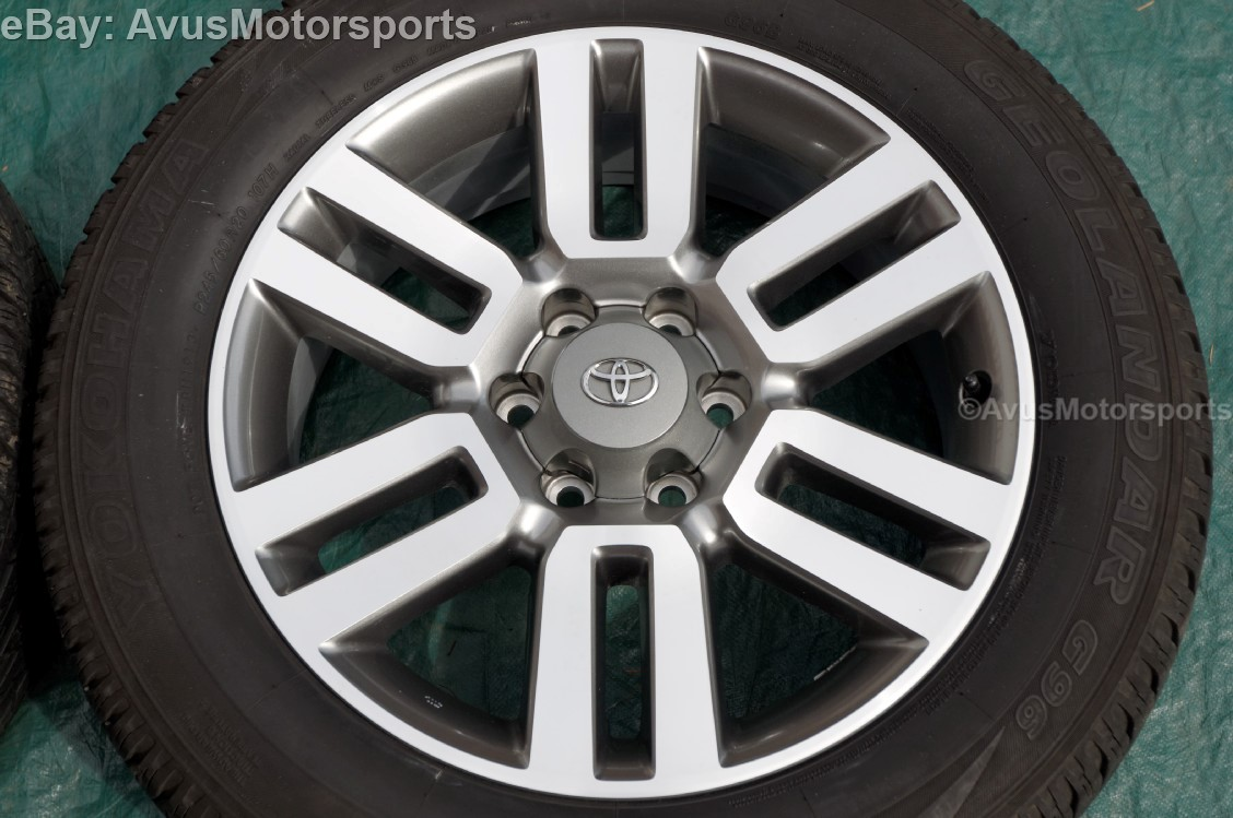 2013 Toyota 4runner Limited Oem Factory 20 Quot Wheels Fj Land