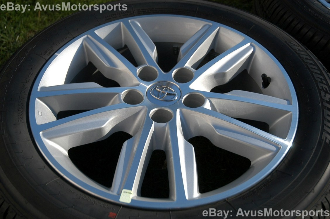 "2014 Toyota Avalon 17"" Wheels Tires Tacoma RAV4 Sienna Solara Camry Lexus"