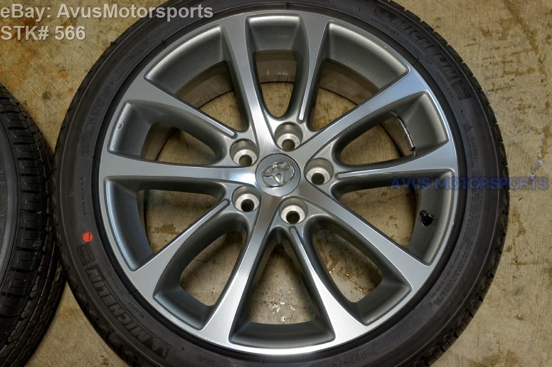 "NEW 2015 Toyota Avalon OEM 18"" Factory Wheels Tires Solara ..."
