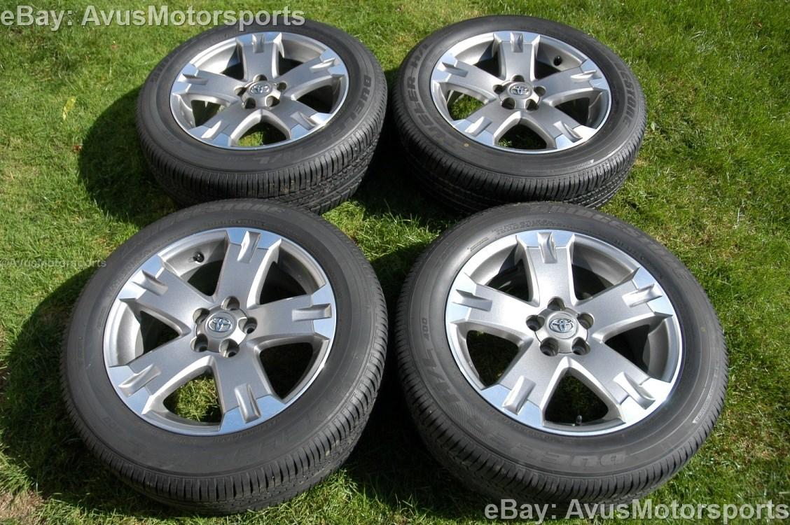 2012 toyota rav4 oem 18 wheels runflat tires tacoma camry. Black Bedroom Furniture Sets. Home Design Ideas