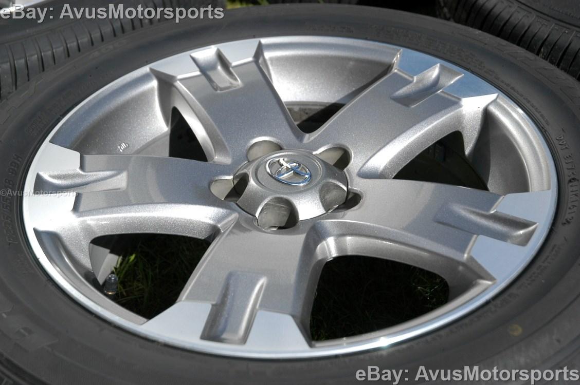 "2012 Toyota Rav4 OEM 18"" Wheels Runflat Tires Tacoma Camry ..."