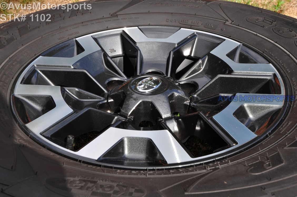"2016 TOYOTA TACOMA OEM FACTORY 16"" TRD OFFROAD WHEELS Tires 4runner Tundra   eBay"