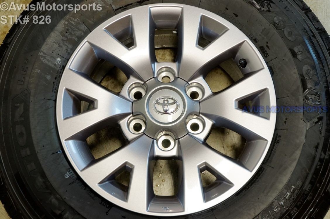 """16"""" TOYOTA TACOMA OEM FACTORY WHEELS Tires Sequoia 4runner ..."""