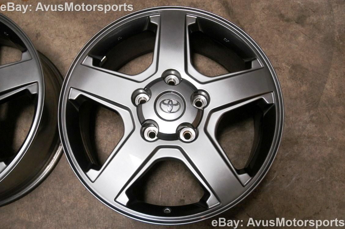 "2013 Toyota Tundra TRD 20"" Option Wheels Sequoia Land Cruiser Lexus LX 470"