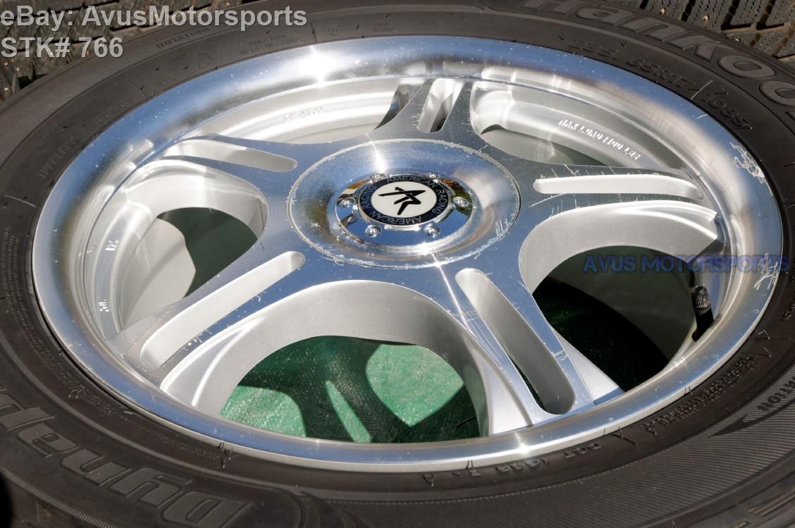 American Racing 5x114 5x108 Acura Mdx Honda Pilot Tacoma