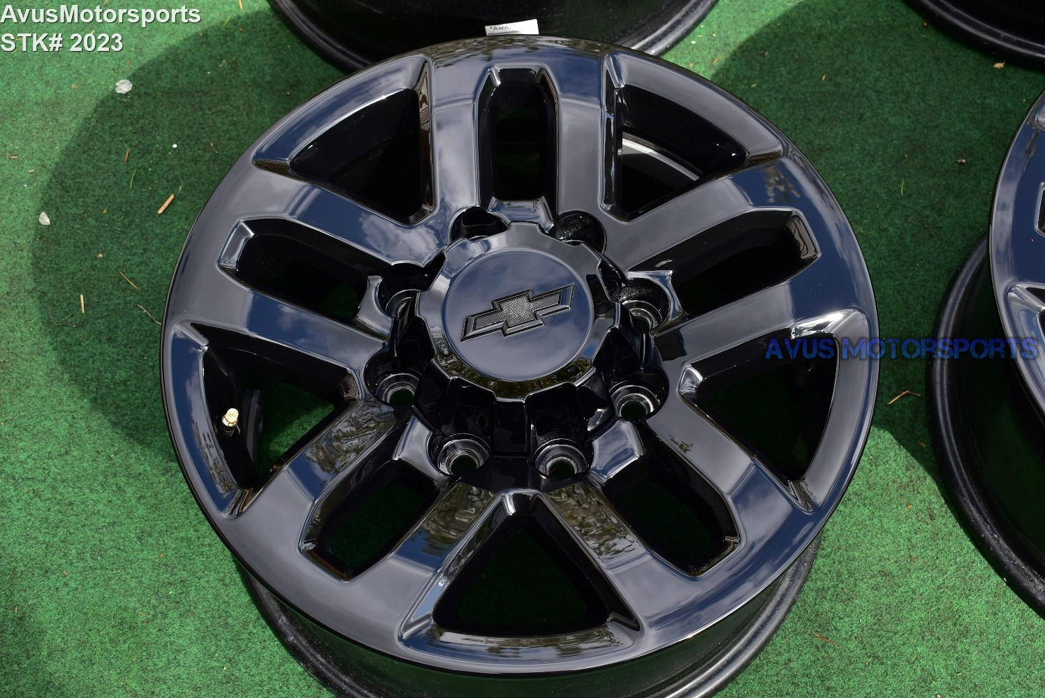 chevy silverado wheels 2500 oem gmc sierra midnight wheel 18inch 2023