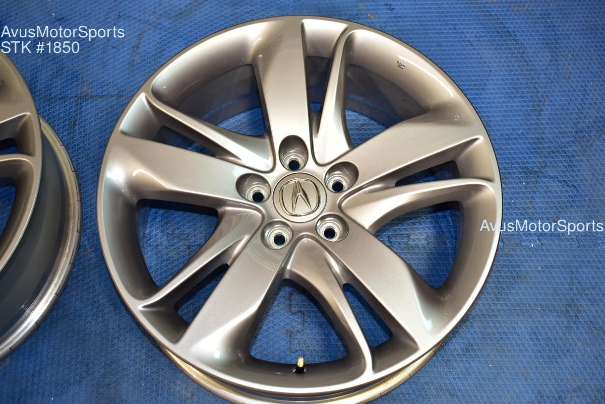 "19"" Acura RDX OEM FACTORY WHEELS Genuine 5x114 part# TJB19080B"