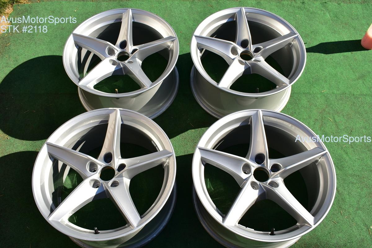 18 Audi A5 Factory Oem Wheels 2019 Part 8w0601025bg Silver