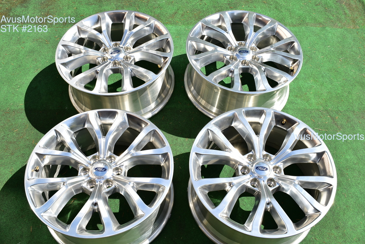22 Ford Expedition Platinum Max Oem Factory Wheels F150 Limited 2019 2017 2018