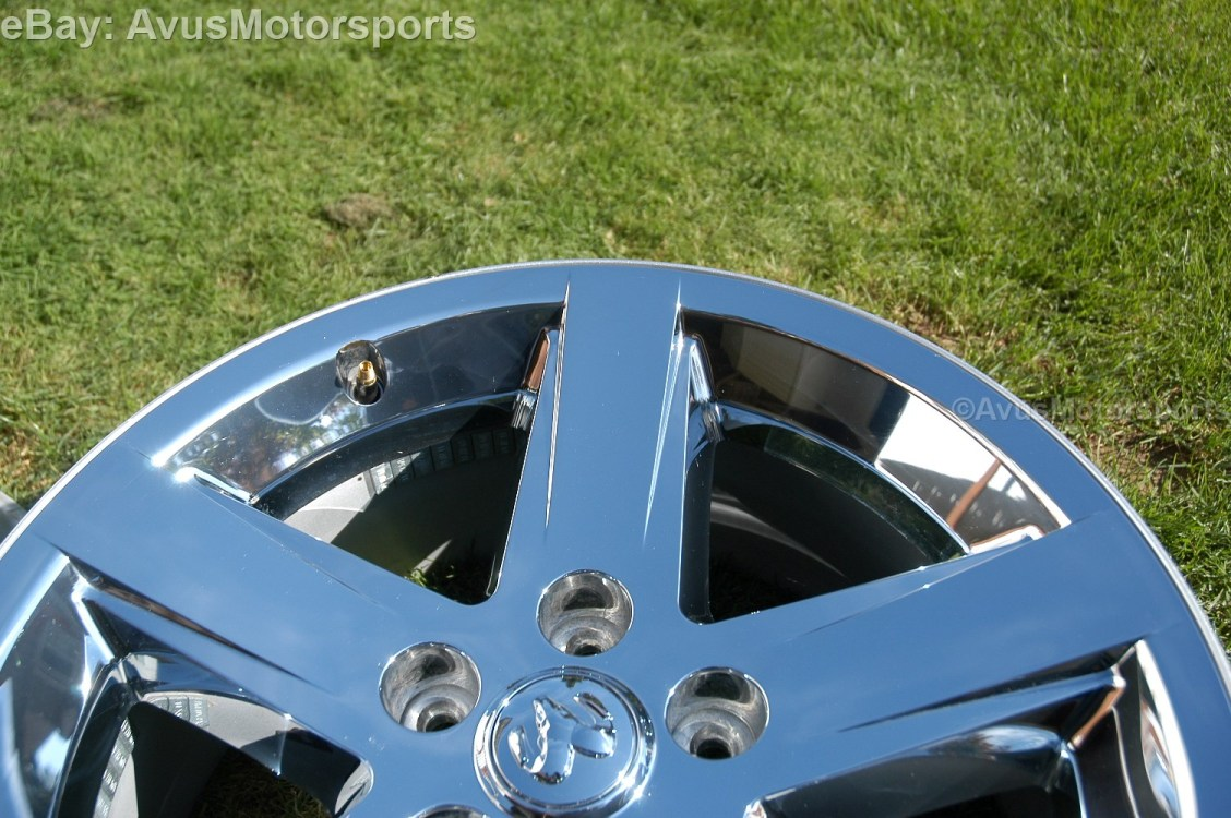 """Dodge RAM Factory 20"""" Chrome Clad Wheels Hemi 1500 Durango Dakota Aspen"""