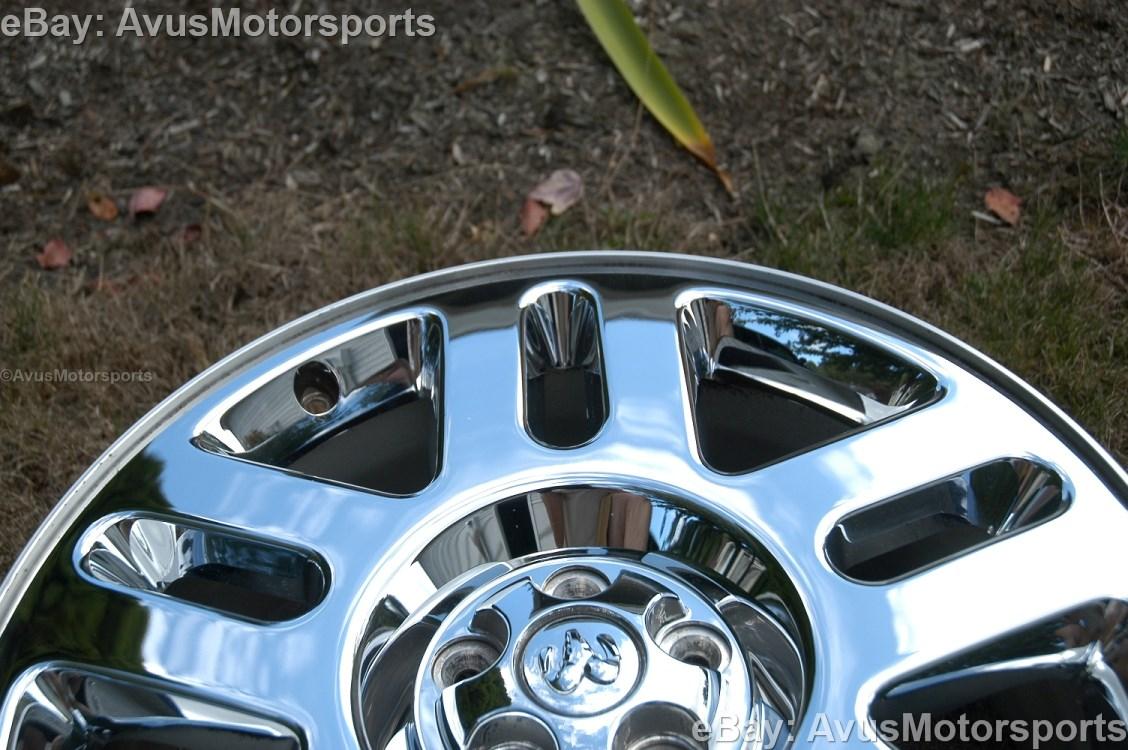 Dodge Chrome Clad Wheels