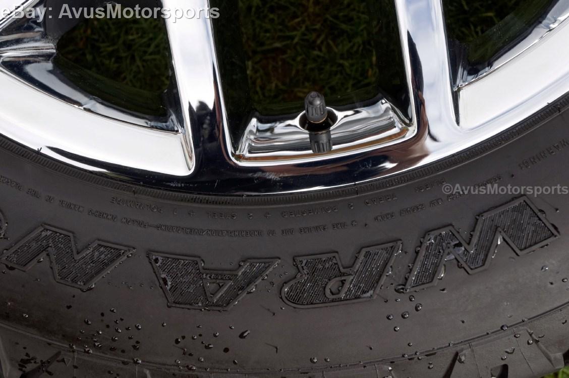 "2014 GMC Sierra 20"" Chrome Wheels Tires Chevy Tahoe Silverado 1500 Suburban"