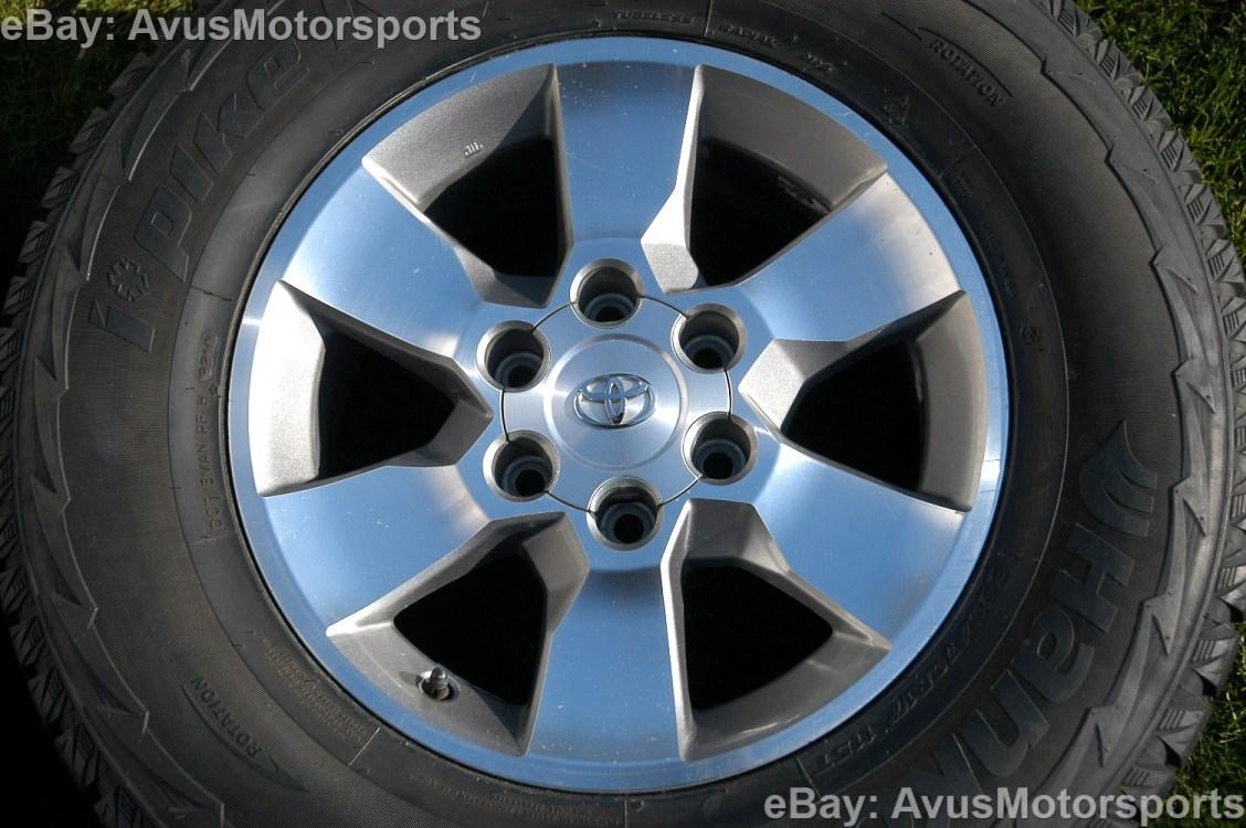 "Toyota 4Runner Factory 17"" Wheels Snow Tires FJ Land Cruiser Tundra Tacoma"
