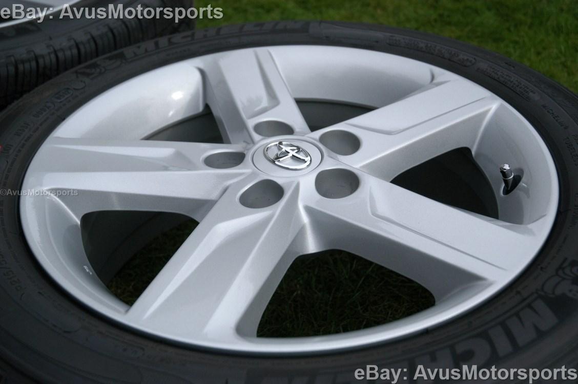 "12 Toyota Camry 17"" Wheels Tires Tacoma 2WD RAV4 Sienna Solara Avalon Lexus"